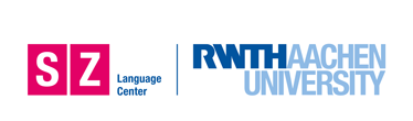 Logo of RWTH Aachen University Language Center